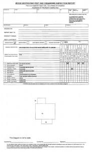 ca termite report wdo